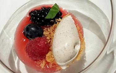 Fruit and Gelato