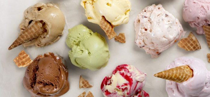 Messy gelato