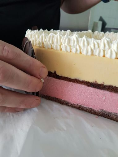 Personalised Birthday gelato cake